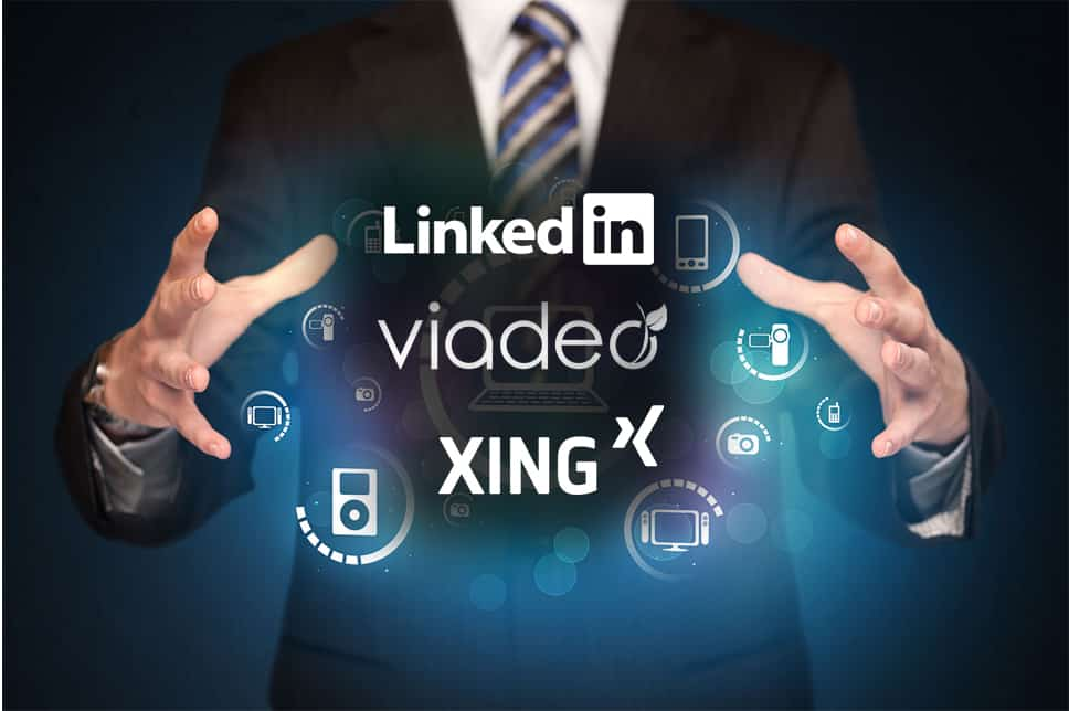 Réseau social LinkedIn, Viadeo ou Xing en portage salarial