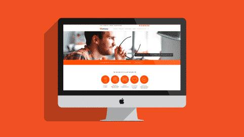 nouvelle identite visuelle et site internet pour la société de portage salarial Aprioris